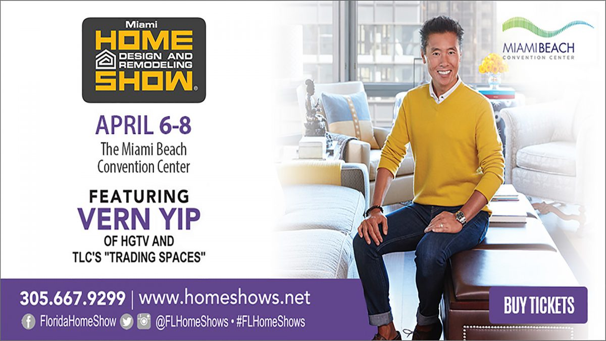 "Design Trends, ""Trading Spaces"" Star Vern Yip and More at the Miami ..."