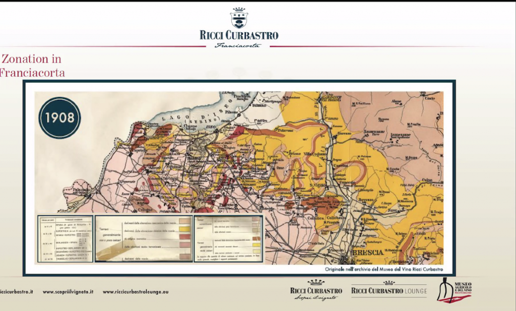 1908 Map Ricci Curbastro Soil