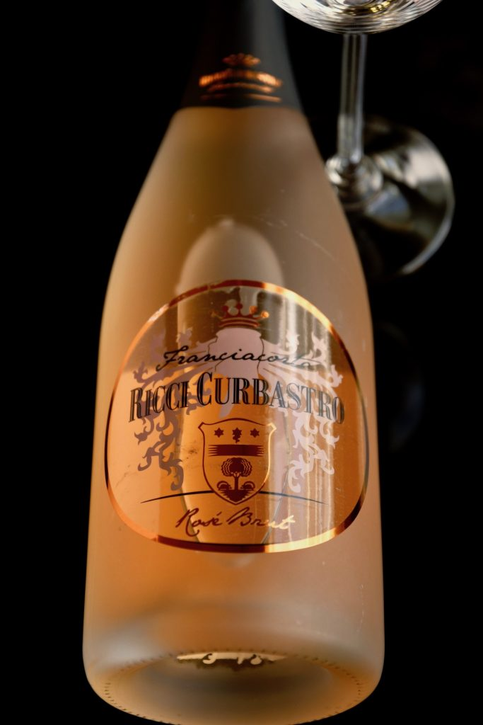 Franciacorta Rosé Brut NV (80% Pinot Noir, 20% Chardonnay)